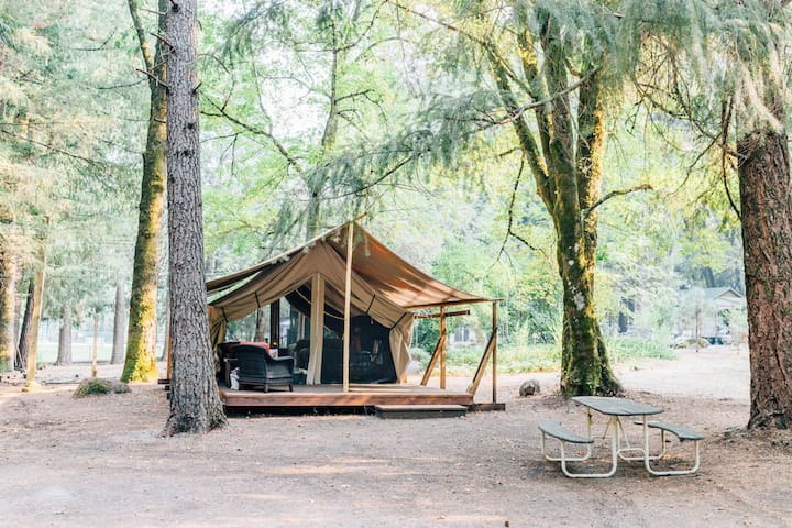 Forest Glamping Tent