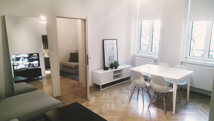 Newly furnished, walking distance to center! - Wien