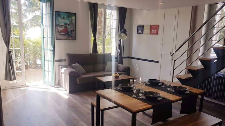 Appartement St Jean de luz proche centre 4pers