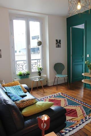 Appartement 2 pièces (36 m2) Paris Buttes Chaumont