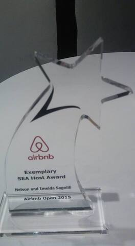 Airbnb Southeast Asia Host Award given in Paris 2015