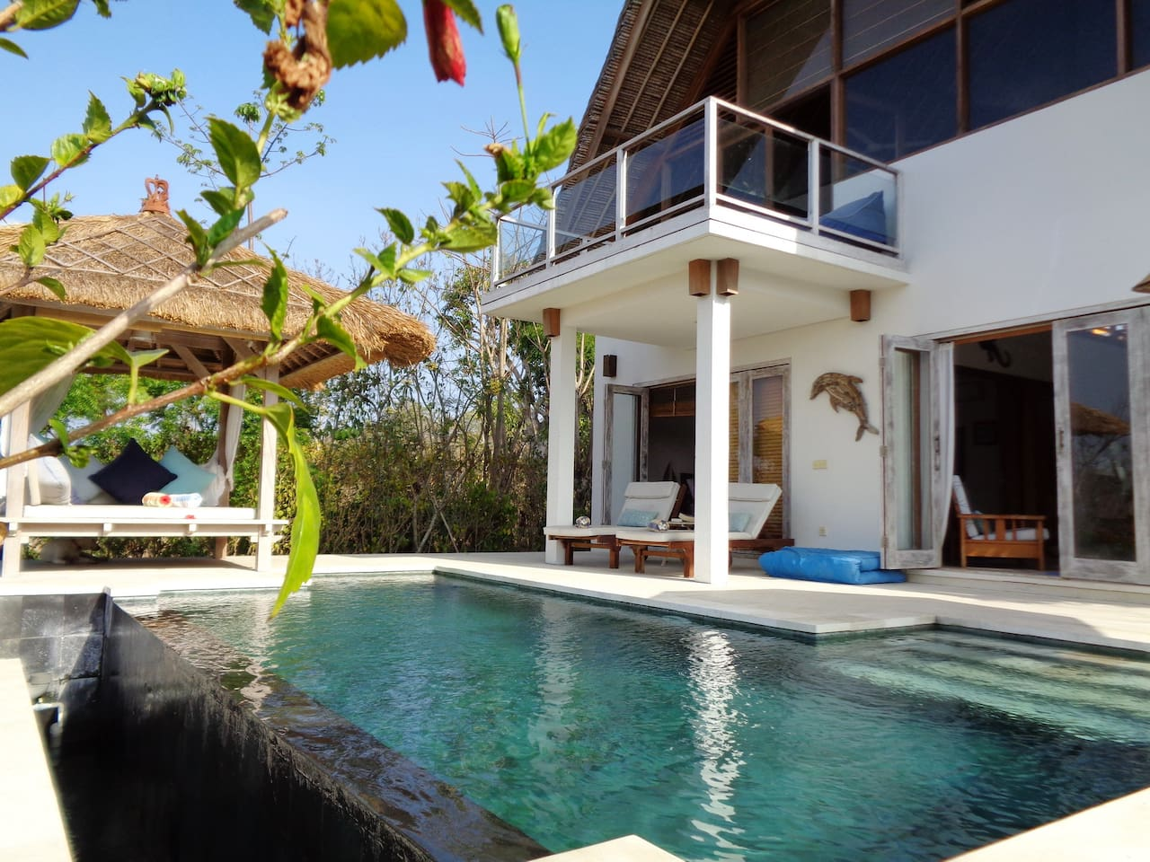 Villa Nusa Kecil from pool