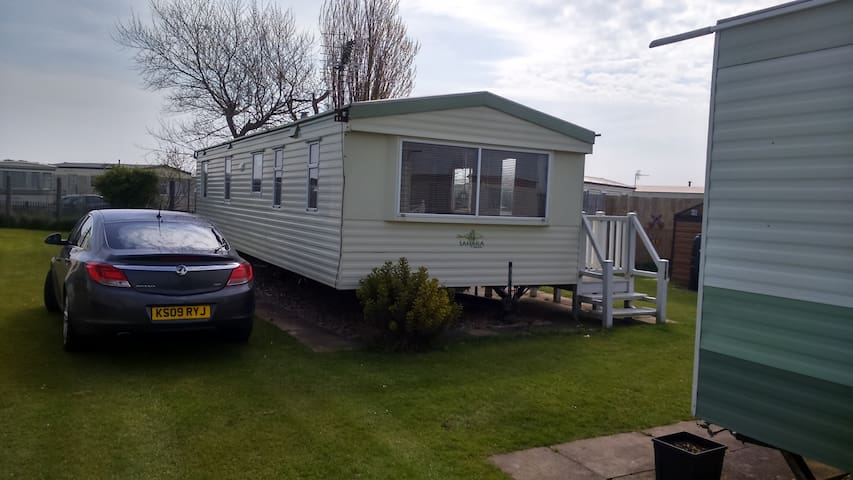 3 bedroom caravan for hire - Chapel Saint Leonards - Muu