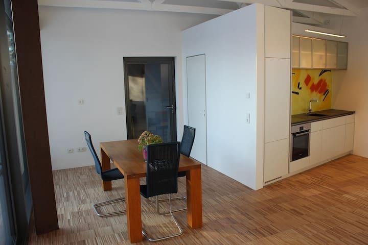 Design-Studio: Rückzugsort im Biosphärenreservat - Bissingen an der Teck - Apartamento