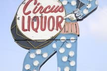 World Famous Circus Liquor featured in a ton of movies.
