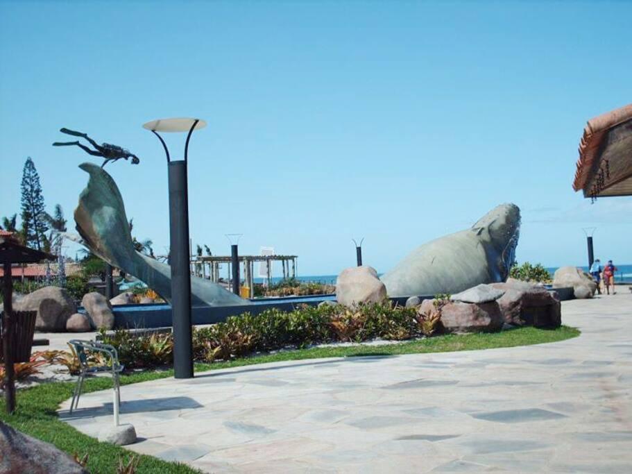 Praça da Baleia, localizado no bairro de CostaAzul