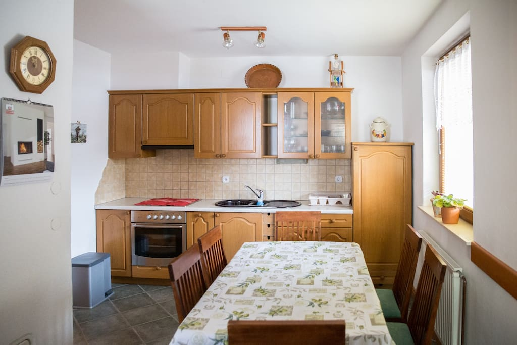 Kitchen with eating room