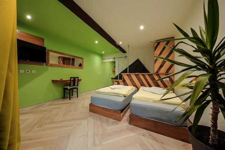 Double room with optional private SPA