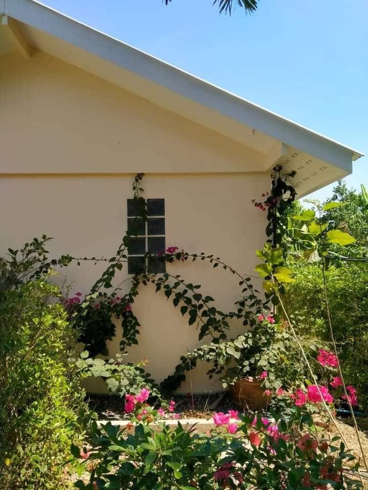 บ้านเพลินใจHomestayคลอง14 ที่พักในสวน