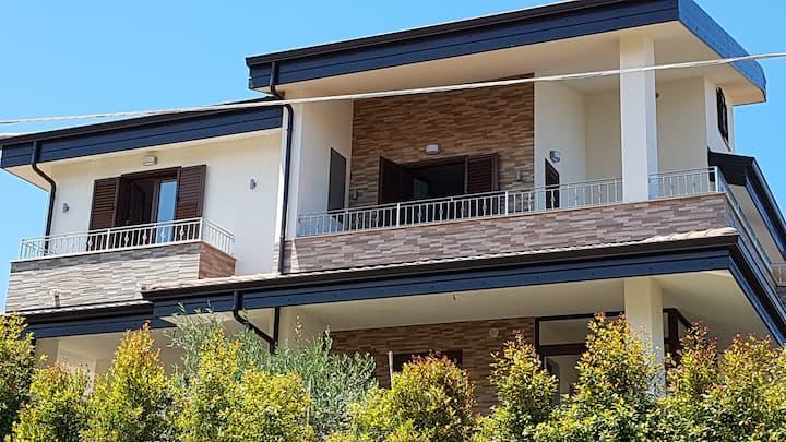 Casa di Carlo nel piccolo Borgo di Zambrone
