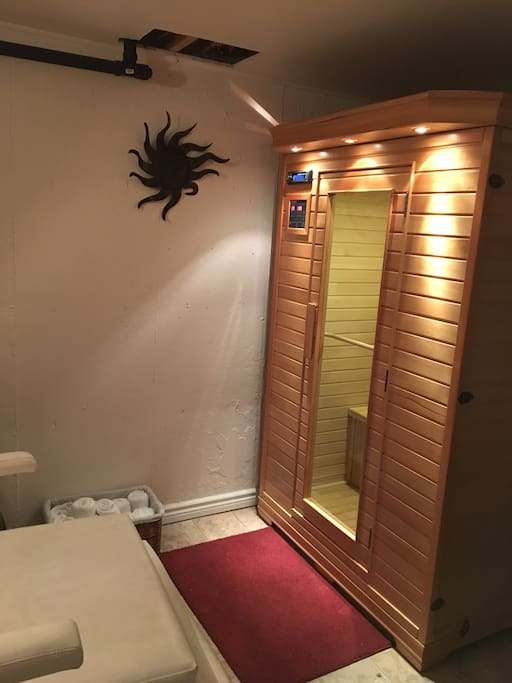 Sauna available at extra cost $