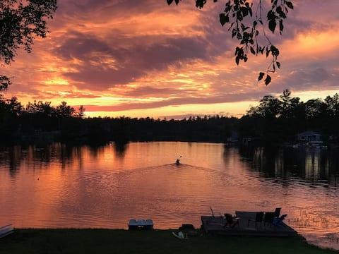West Twin Lake Cottage Escape