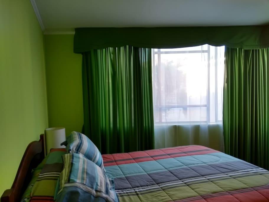 Dormitorio 1 principal, Cama 2 Plazas