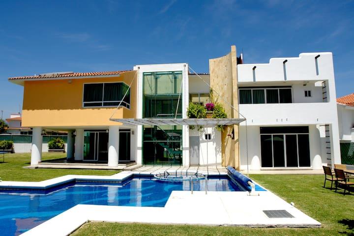 Casa de descanso en Cocoyoc