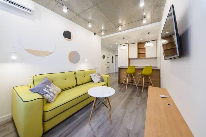 Дизайнерская квартира на Осокорках