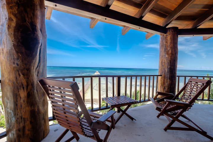 Breathtaking view from 3rd floor beach home! Occupancy for up to 8 persons
