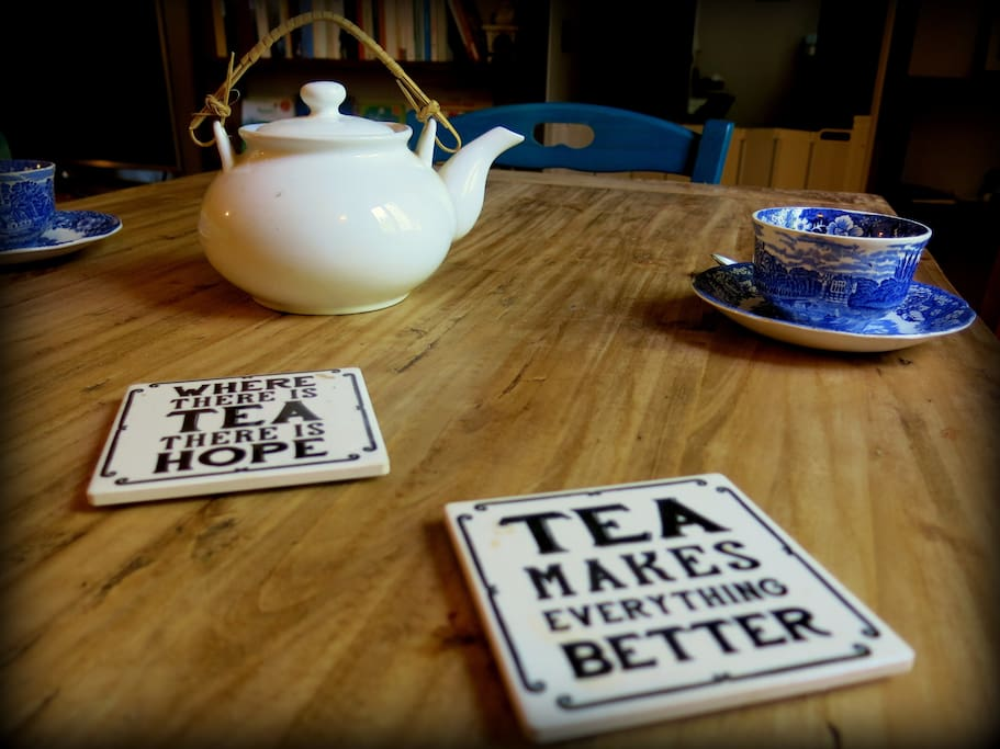 """Good things happen over tea"""