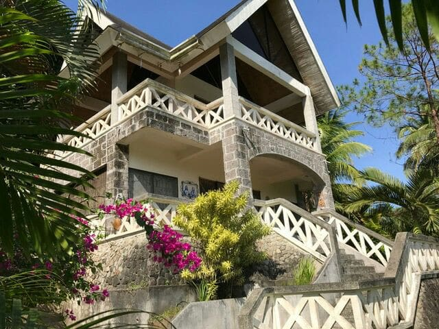 a 2 storey house on an elevated lot - Lemery