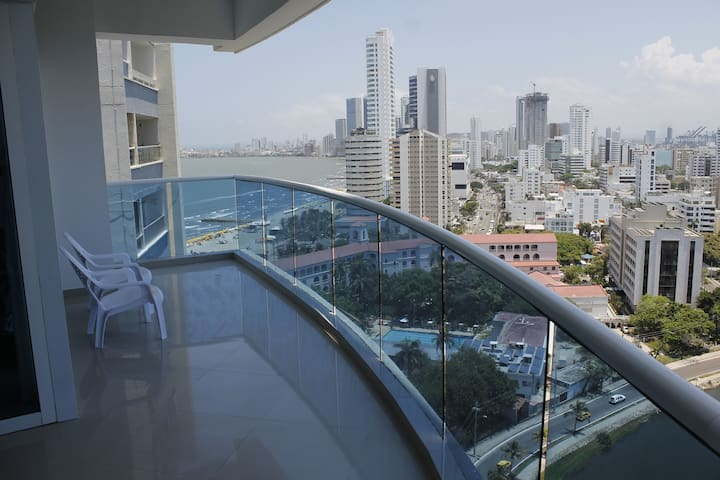 Unik Apartment 1701 Edificio Poseidon del Caribe - Cartagena - Apartment