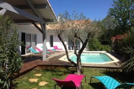 Villa Quand la campagne rivalise avec la plage - Ahetze - Dom