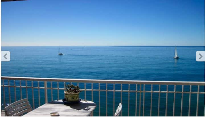 Chateau St Louis French Riviera sea view terrace