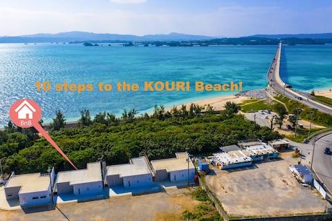 10STEP WAIK TO KOURI BEACH★SEASIDE Jacuzzi Villa