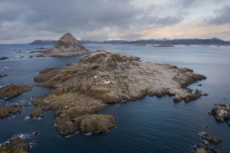 Littleisland Lighthouse - Litløy Fyr:  PURPLE ROOM