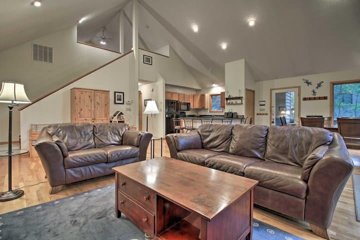 Pet-Friendly Wintergreen Home w/ Deck!