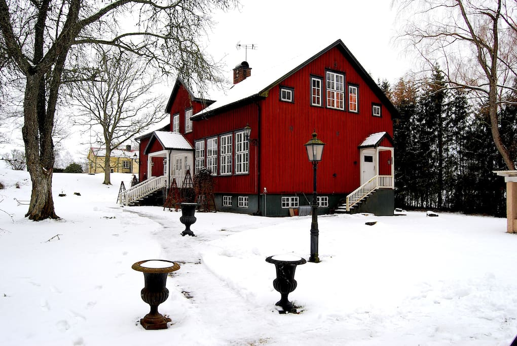 Old school located on the countryside of Västra Götaland county.