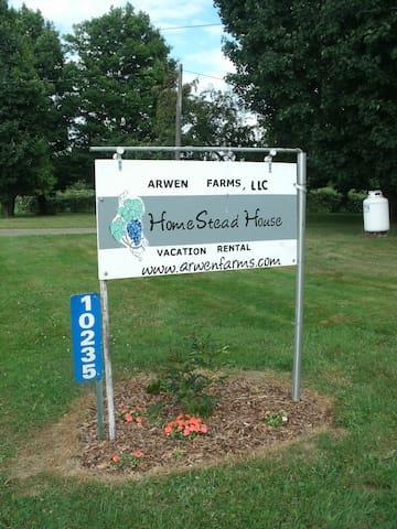 Arwen Farms LLC., Home Stead House