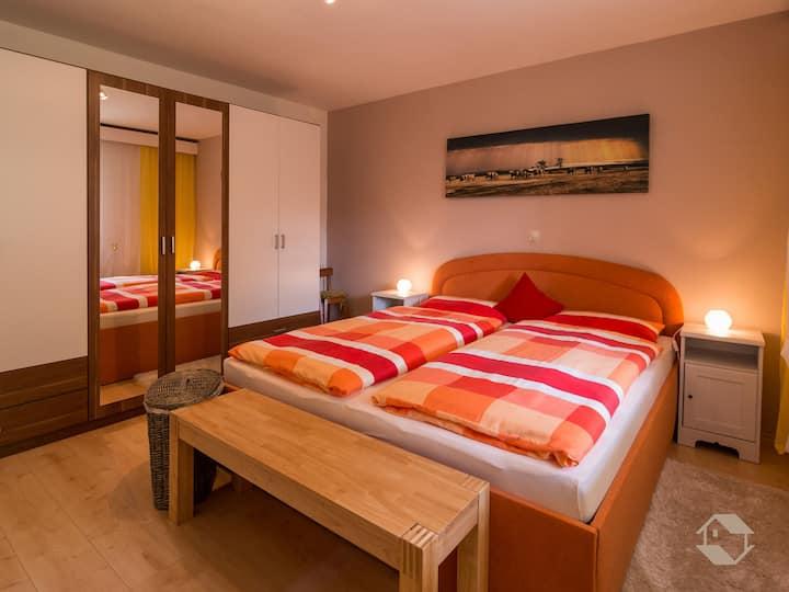 Ferienwohnung Knopf, (Schömberg), Ferienwohnung Knopf, 50 qm, 1 Schlafzimmer, maximal 2 Personen
