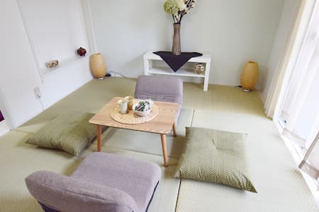 Cozy Japanese room in Osaka, 3min walk to sta. - Naniwa-ku, Ōsaka-shi - Appartement