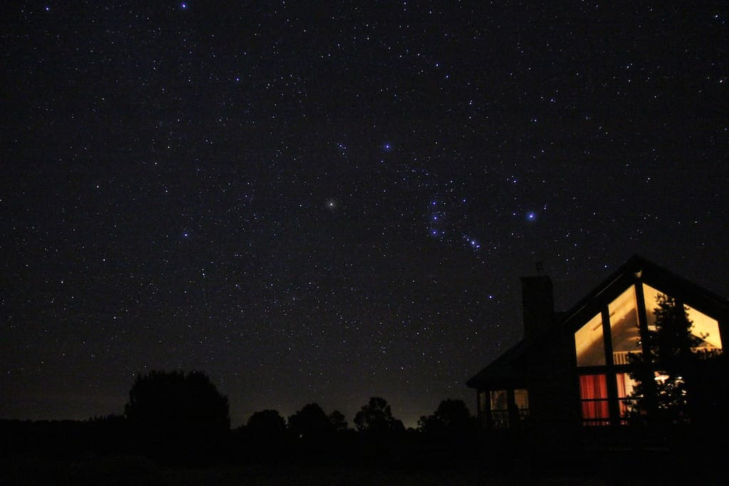 Orion in the East
