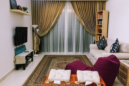 Entire Apartment In Lush Green Surrounding - Puchong - Appartement