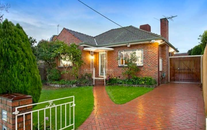 A huge classic 50's brick home, great for familes!