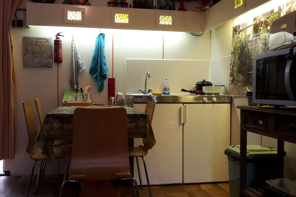 your own little kitchen