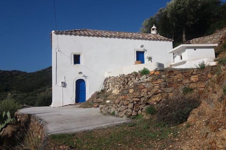 Maison traditionnelle, Teria, Monemvasia, Laconie