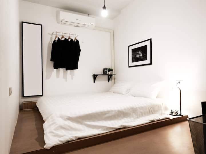 Sleeping Well (Double Room with Shared Bathroom-1)