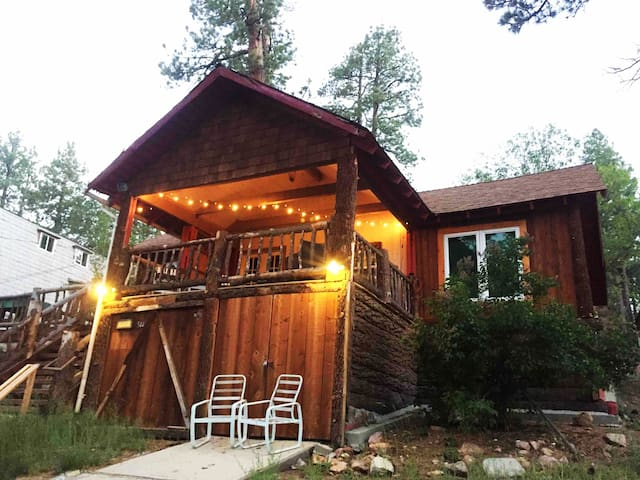 Cozy Bear Lookout~ Lake view Cabin! Walk to water!