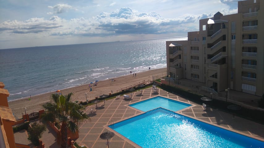 Three bedroom flat in the Mediterranean Sea.
