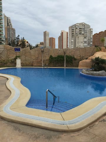Apartamento con vistas al mar - Benidorm