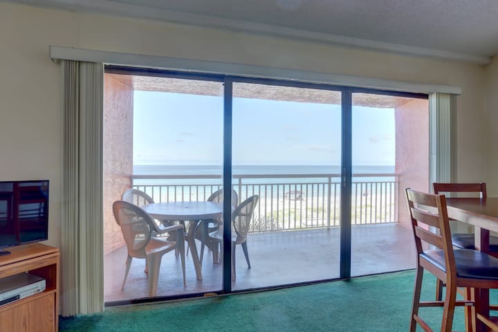 Gulf front condo on a budget