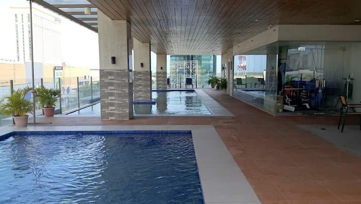 Sunvida Suite across SM City Cebu, Cebu City