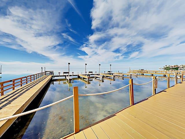 Your reservation includes an abundance of luxurious amenities, including access to a private pier.