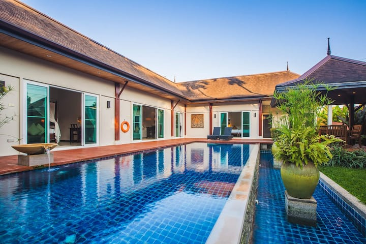 VD10: Oriental Villa 4BR Private Pool-Layan Bach