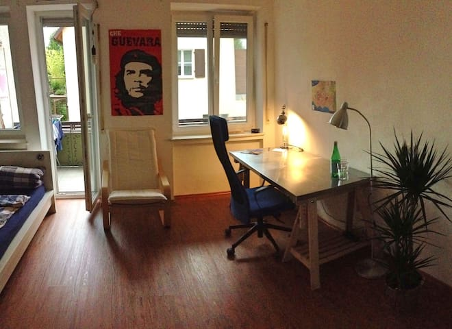 20m2 | CITY CENTER | 3MIN WALK TO LAKE CONSTANCE - Friedrichshafen - Apartemen