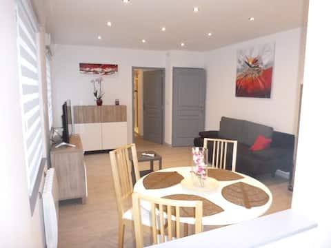 Bel Appartement 42 m2 tout équipé très chaleureux