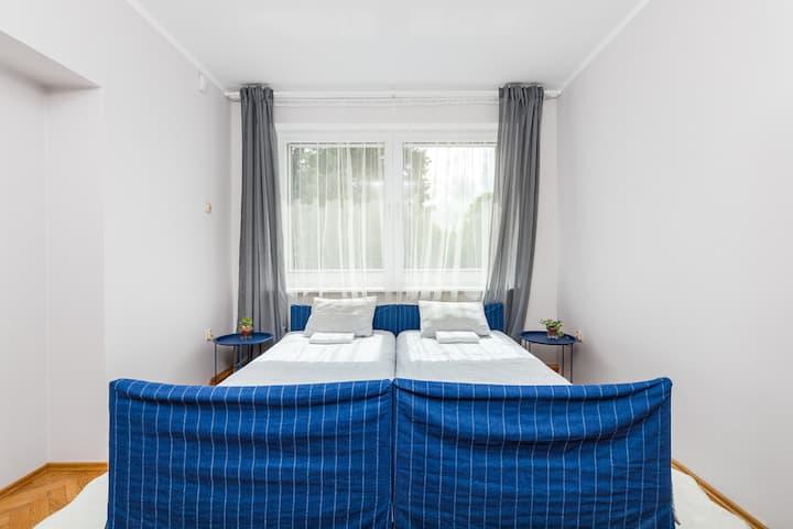 Sea House - pokój 2-osobowy w willi z ogrodem