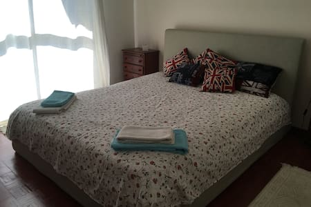 Big Double Room near Lisbon, with Garden and BBQ - Porto Salvo