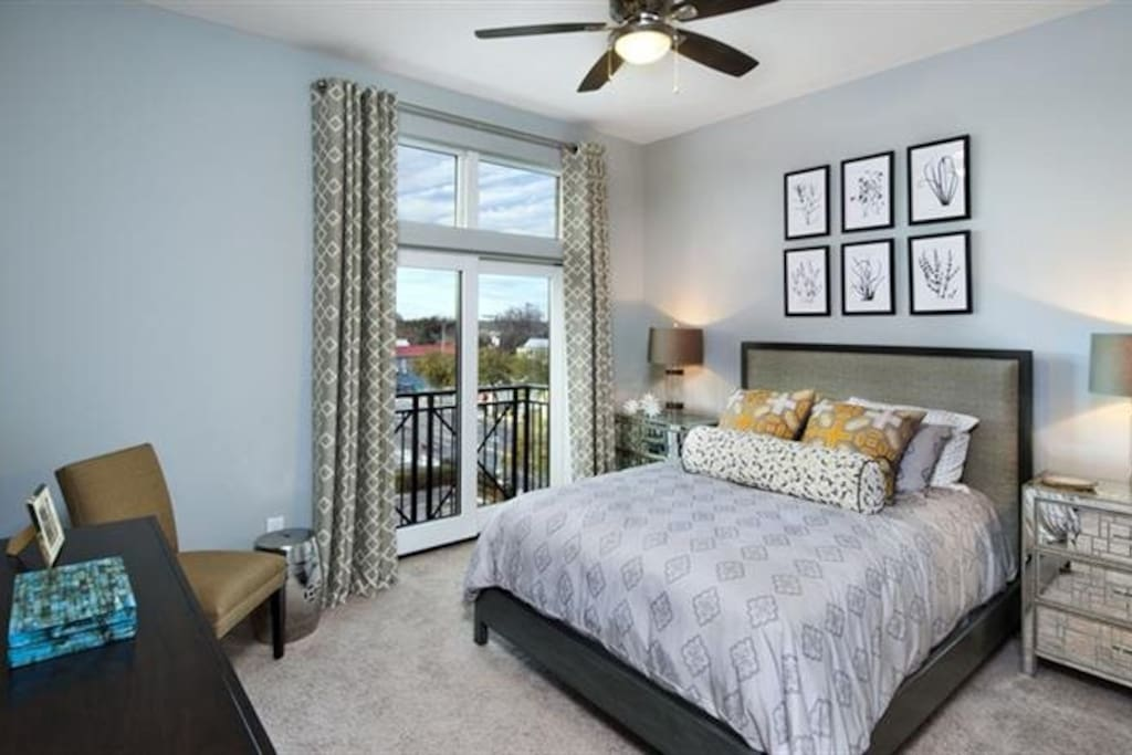 Spacious Bedrooms - Decor different than shown